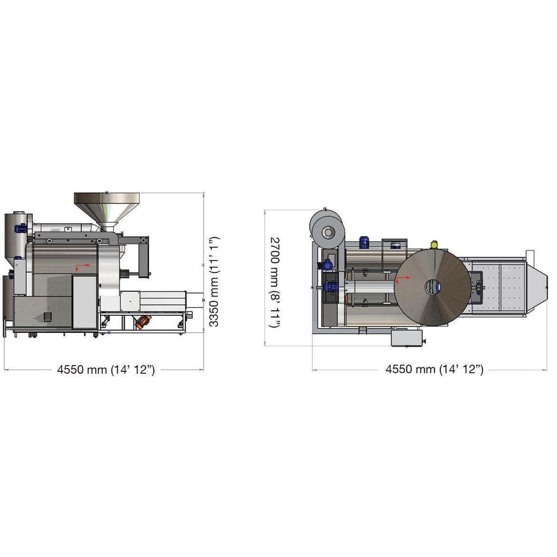 EB500 - DÖNERLİ KAVURMA FIRINI_Proje