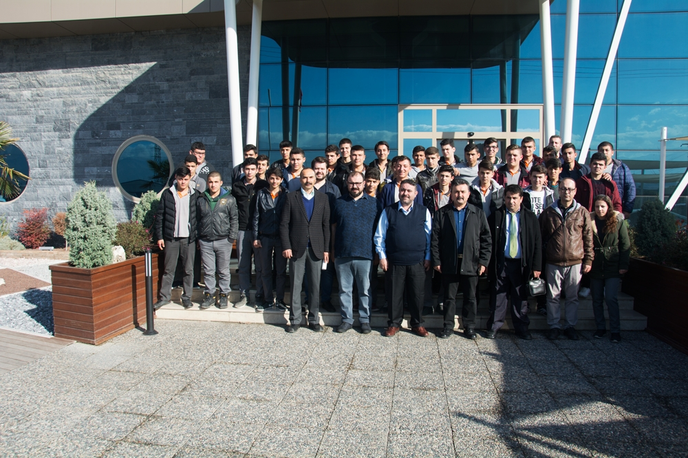 Meslek Lisesi öğrencileri şirketimizi ziyaret etti