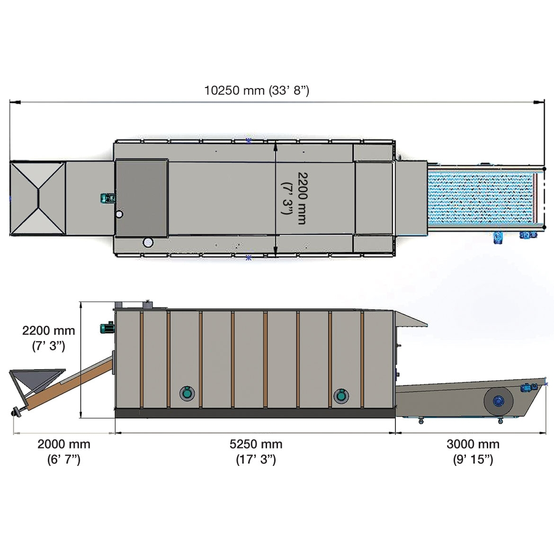 SRMB120 K - KURUTMA MAKİNESİ_Proje