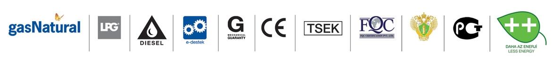 srx60 -kavurma fırını Ürün sertifika ve belgeleri