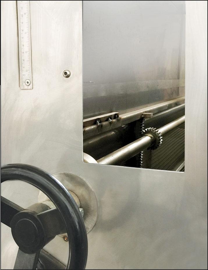 SVL1000 - KAVURMA FIRINI Ürün kalınlık gözlem ve ayarı...